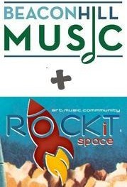 Beacon Hill Music and ROCKiT Space logos