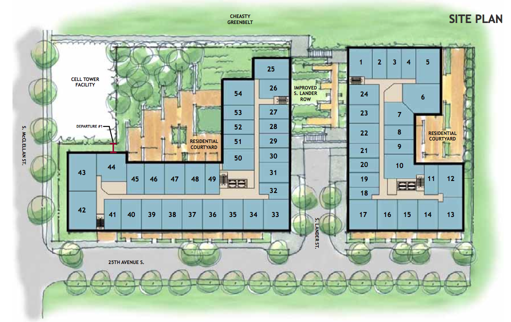 Design Review Board To Discuss 25th Ave Apartment Project