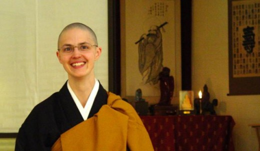 Rev. Kojun Hull, Director of Training, Great Vow Monastery. Photo courtesy of Chobo-Ji.