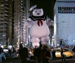 I tried to think of the most harmless thing. Something I loved from my childhood. Something that could never, ever possibly destroy us. Mr. Stay Puft.