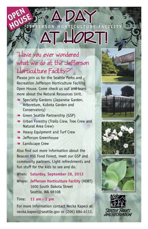 OpenHouse at Hort 9.28